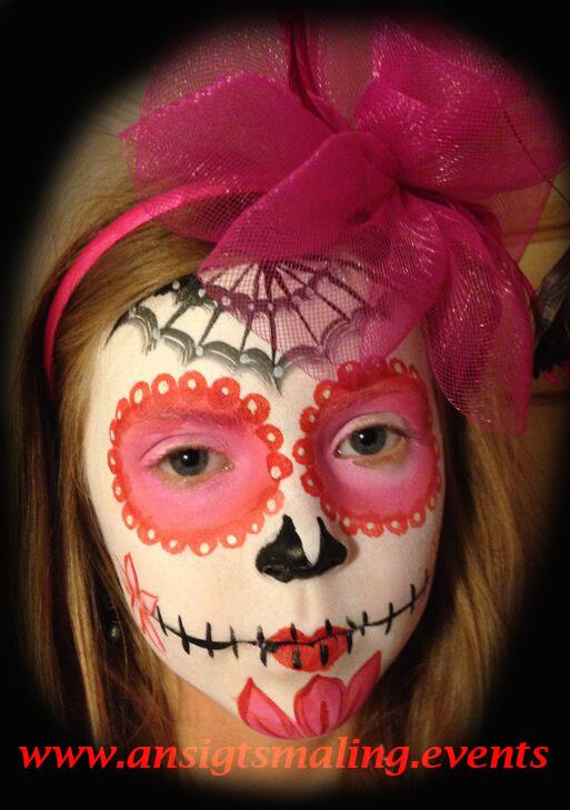 ansigtsmaling til halloween